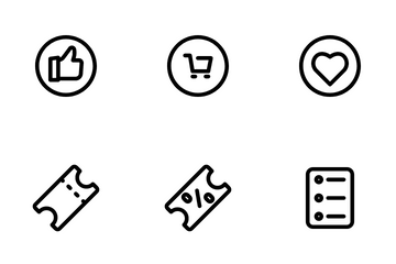 Ecommerce And Online Store Icon Pack