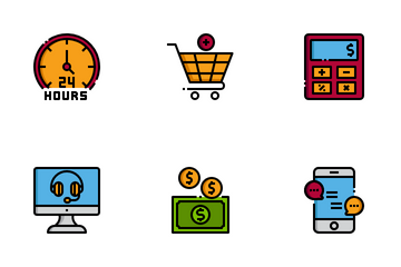 Ecommerce And Shopping Icon Pack