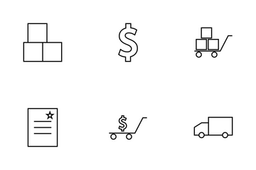 Ecommerce  Bold Icon Pack