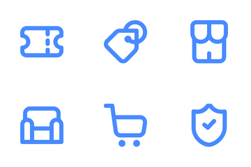 Ecommerce Category Icon Pack