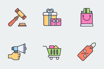 Ecommerce Icon Set Icon Pack