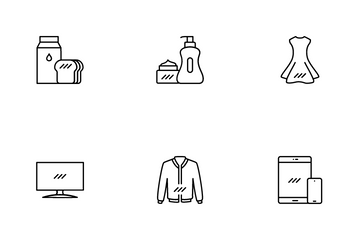 Ecommerce Product Sale Icon Pack