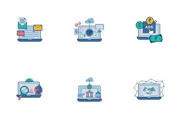Ecommerce Services Icon Pack