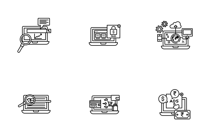 Ecommerce Services Vol 1 Icon Pack