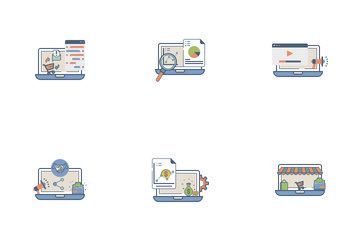 Ecommerce Services Vol 2 Icon Pack