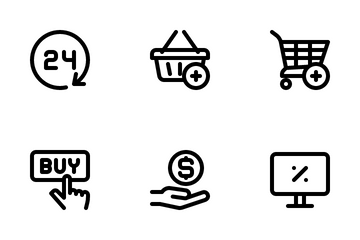 ECommerce Shop Icon Pack