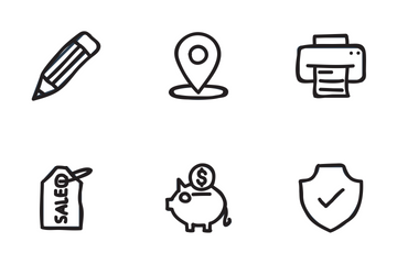 Ecommerce Shopping Vol 1 Icon Pack