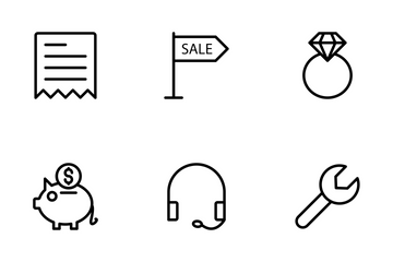 Ecommerce Shopping Vol 2 Icon Pack