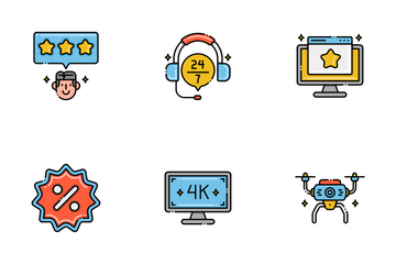 ECommerce Technology Icon Pack