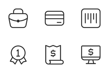 Ecommerce Vol  1 Icon Pack
