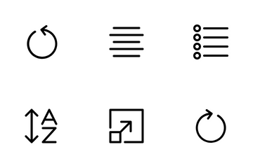 Editing Text Icon Pack