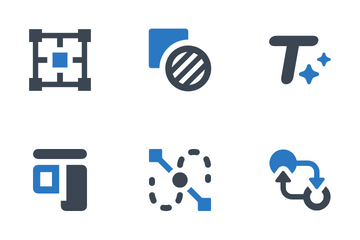 Editing Tools Icon Pack