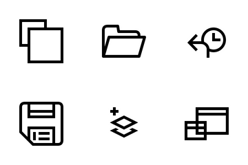 Editor User Interface Vol 1 Icon Pack