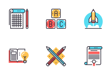 Education And Knowledge Icon Pack