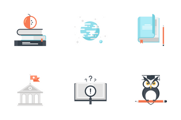 Education And Knowledge Vol 2 Icon Pack