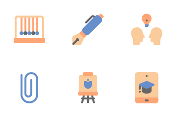 Education And School Icon Pack