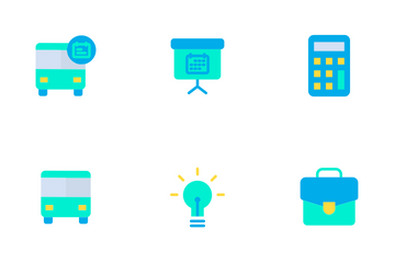 Education And School Vol 1 - Flat Icon Pack
