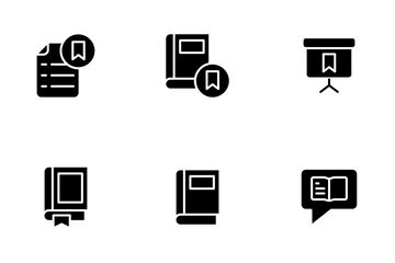 Education And School Vol 1 - Glyph Icon Pack