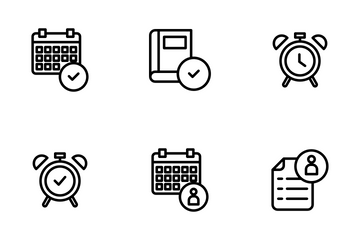 Education And School Vol 1 - Outline Icon Pack