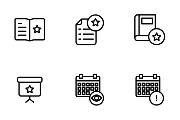 Education And School Vol 2 - Outline Icon Pack