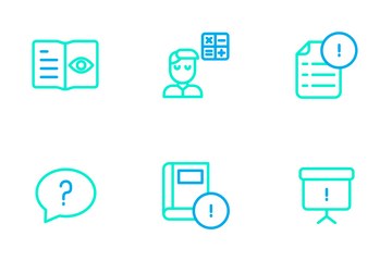 Education And School Vol 2 - Outline Color Icon Pack