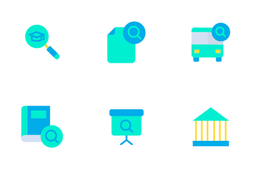 Education And School Vol 3 - Flat Icon Pack