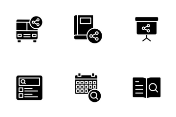 Education And School Vol 3 - Glyph Icon Pack
