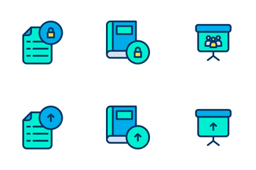 Education And School Vol 3 - Lineal Color Icon Pack
