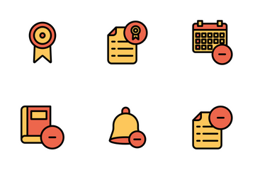 Education And School Vol 3 - Mono Lineal Icon Pack