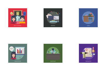 Education And Science 2 Icon Pack