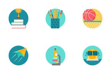 Education Conceptual Part 1 Icon Pack