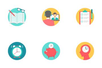 Education Conceptual Part 3 Icon Pack