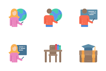 Education - Flat Icon Pack