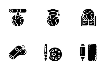 Education - Glyph Icon Pack