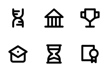 Education Line Icons 1 Icon Pack