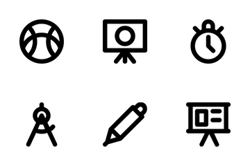 Education Line Icons 3 Icon Pack