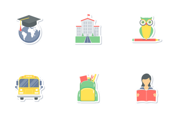 Education Part 1 Icon Pack