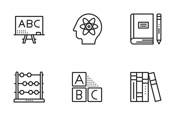 Education & Research Icon Pack