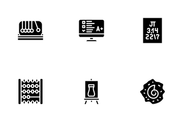 Education Science Icon Pack
