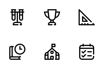 Education & Science Icon Pack