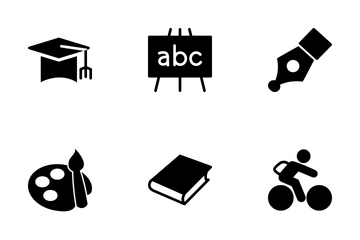 Education Vector Icons Icon Pack