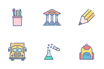 Education Vol 01 Icon Pack