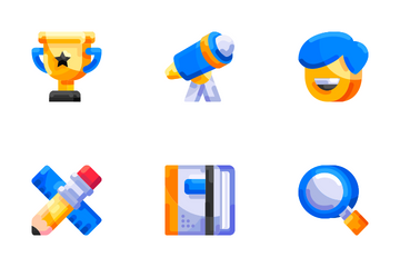 Education Vol1 - Flat Icon Pack