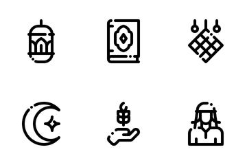 Eid Al Fitr Icon Pack