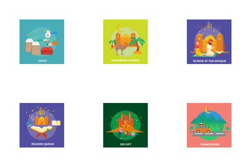 Eid And Ramadan Icon Pack