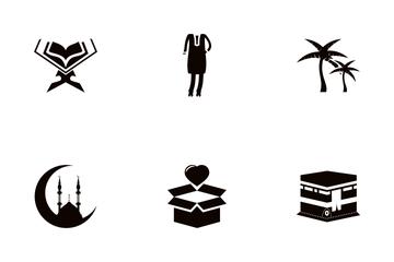 Eid Glyph Icon Pack