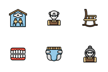Elderly Icon Pack