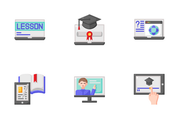 Elearning And Education Icon Pack