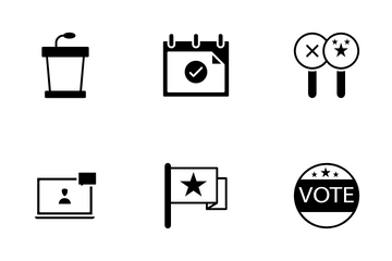 Election And Politics Icon Pack