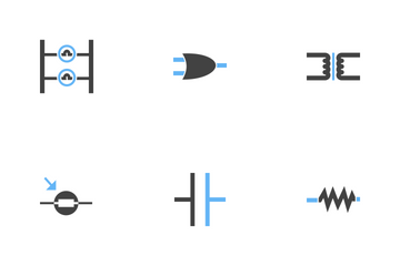 Electric Circuits Icon Pack